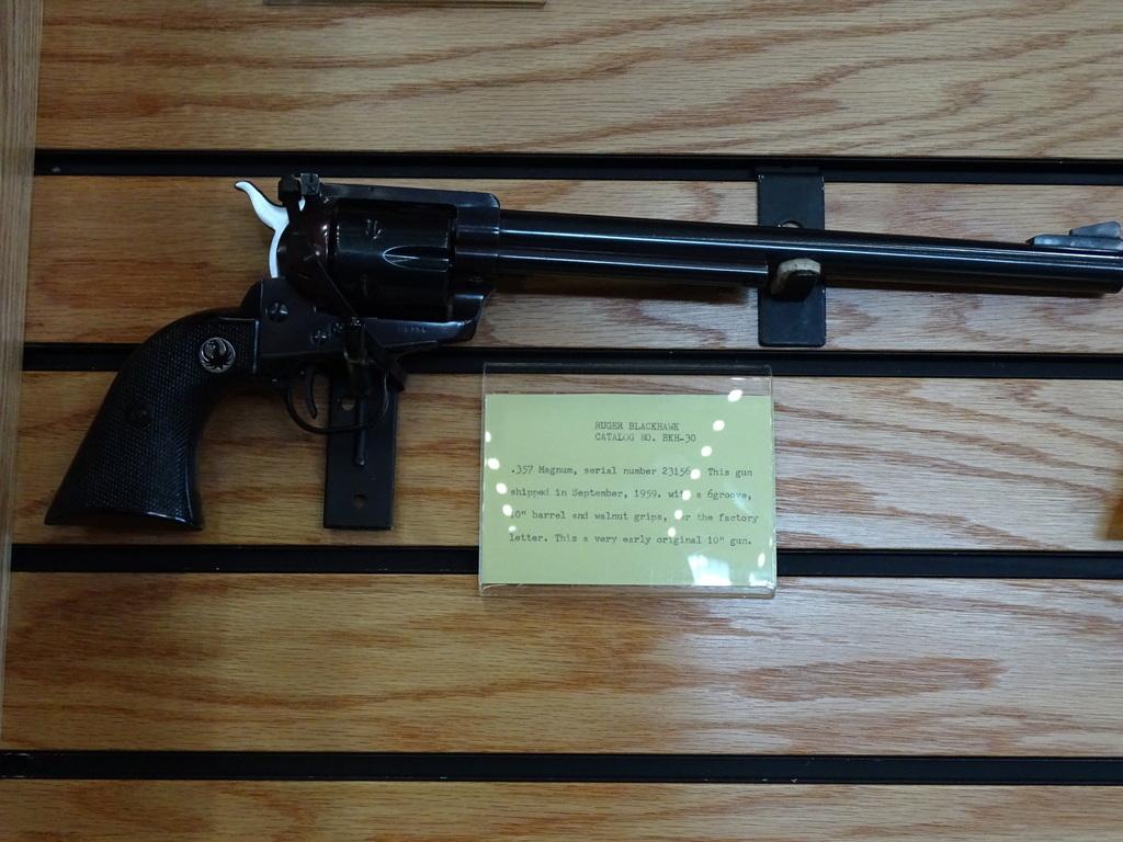 ruger blackhawk serial number history